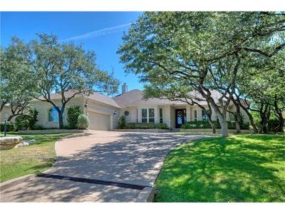 Lakeway Single Family Home For Sale: 106 Clubhouse Dr