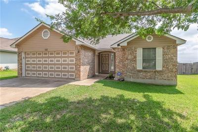 Leander Single Family Home Pending - Taking Backups: 612 Sparkling Brook Ln