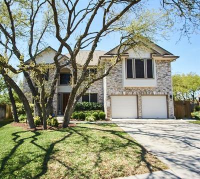 Round Rock Single Family Home For Sale: 1304 Crimson Clover Ct
