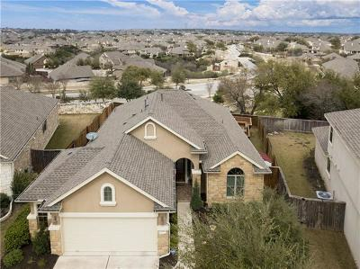 Leander Single Family Home For Sale: 2808 Garnet Ridge Dr