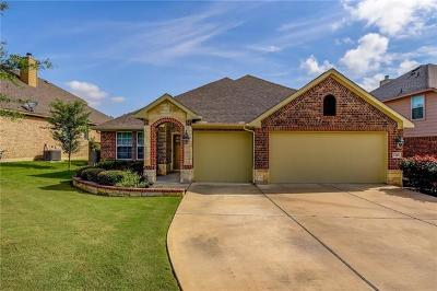 Cedar Park Single Family Home For Sale: 1310 Rimstone Dr