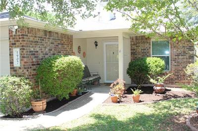 Cedar Park TX Single Family Home Pending - Taking Backups: $207,900