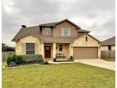 Dripping Springs Single Family Home For Sale: 17609 Sly Fox Dr
