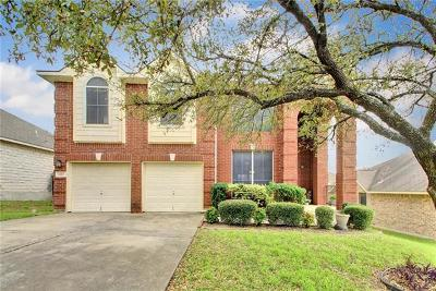 Round Rock Single Family Home For Sale: 1127 Terra St