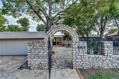 Jonestown Single Family Home For Sale: 8517 Grandview Dr