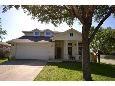 Leander Single Family Home For Sale: 1901 Brentwood Dr