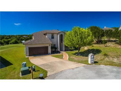 Lago Vista Single Family Home For Sale: 20806 Madison Cv