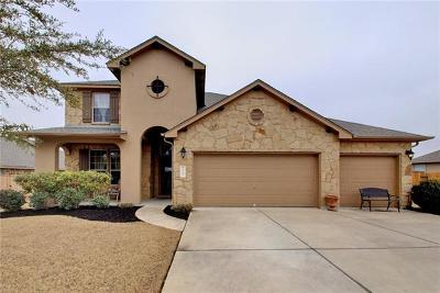 Pflugerville Single Family Home For Sale: 19913 Wearyall Hill Ln