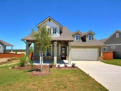 Dripping Springs TX Single Family Home For Sale: $514,990