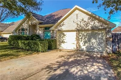 Pflugerville Single Family Home Pending - Taking Backups: 702 Botany Bay Cir