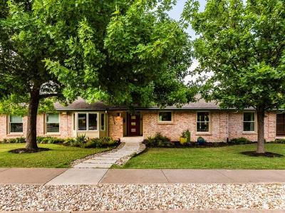 Austin Single Family Home For Sale: 2124 Barton Hills Dr