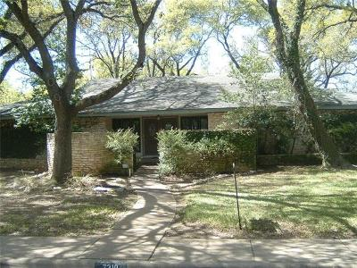 Austin Single Family Home For Sale: 7310 Mesa Dr