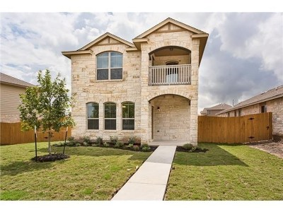 Round Rock Single Family Home For Sale: 616 Allenscreek Way