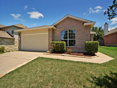 Leander Single Family Home For Sale: 1016 Burgess Dr
