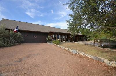 Wimberley Single Family Home For Sale: 901 Thompson Ranch Rd