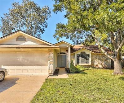 Cedar Park Single Family Home For Sale: 1323 Butternut Pl