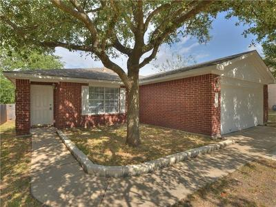 Pflugerville Single Family Home For Sale: 17204 Ardisia Dr
