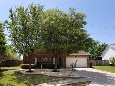 Hutto Single Family Home For Sale: 406 Canadian Cv