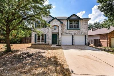 Travis County, Williamson County Single Family Home For Sale: 12708 Parkland Dr