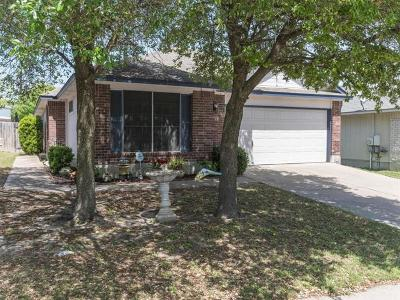 Pflugerville Single Family Home Pending - Taking Backups: 17749 Loch Linnhe Loop