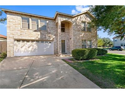 Round Rock Single Family Home For Sale: 3108 Hailey Ln