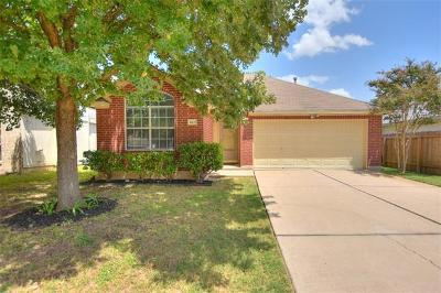 Round Rock Single Family Home For Sale: 1603 Cindy Ct