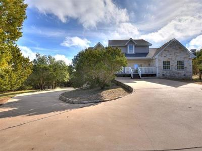 Dripping Springs Single Family Home For Sale: 10051 W Cave Loop