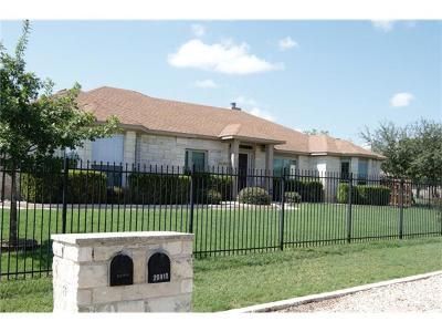 Lago Vista Single Family Home For Sale: 20919 Oak Dale Dr