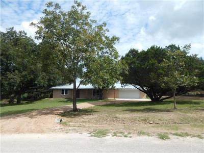 Lampasas Single Family Home For Sale: 150 County Road 1030