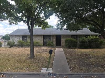 Austin Single Family Home For Sale: 7409 Chisos Pass