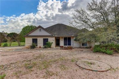 Dripping Springs Single Family Home Pending - Taking Backups: 1021 Westland Ridge Rd