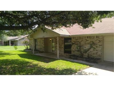 Salado Single Family Home For Sale: 1709 Guess Dr