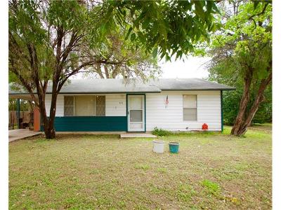San Marcos Single Family Home Pending - Taking Backups: 419 Parker Dr
