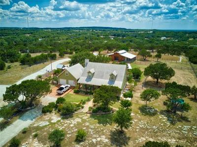 Dripping Springs TX Single Family Home For Sale: $865,000