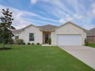 Jarrell Single Family Home For Sale: 305 Jake Dr