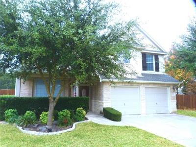 Cedar Park Single Family Home For Sale: 510 Fern Ct