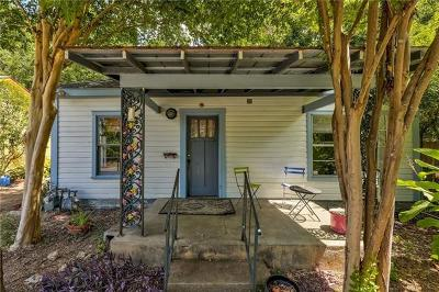 Travis County Single Family Home For Sale: 1402 Haskell St #A