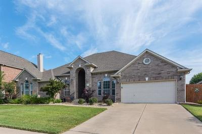 Round Rock Single Family Home For Sale: 2950 James Parker Ln