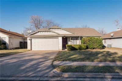 Cedar Park Single Family Home For Sale: 620 Brookside Pass