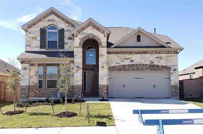 Round Rock Single Family Home For Sale: 3337 Pauling Loop