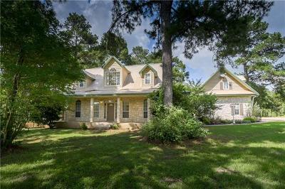 Bastrop County Single Family Home Active Contingent: 100 Pine Path