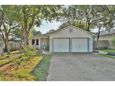 Cedar Park Single Family Home Pending - Taking Backups: 1602 Carriage Hills Trl