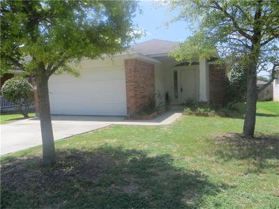 Pflugerville Single Family Home Pending - Taking Backups: 15300 Hyson Xing