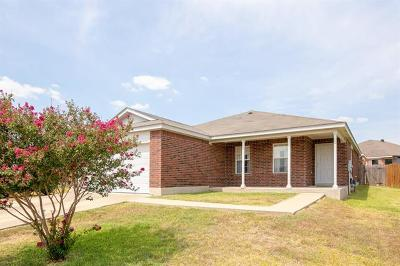Lockhart Single Family Home Active Contingent: 411 Thunderstorm Ave