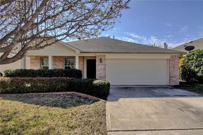 Cedar Park TX Single Family Home Pending - Taking Backups: $245,000