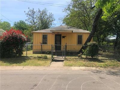Austin Single Family Home For Sale: 1911 N College Row NE