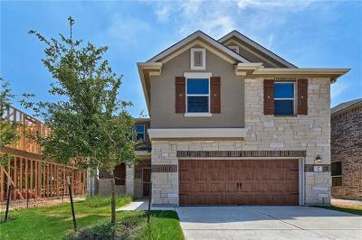 Round Rock Single Family Home For Sale: 2471 Sunrise Rd #54