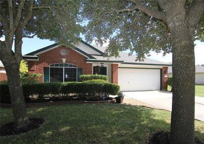 Round Rock Single Family Home For Sale: 17305 Guana Cay Dr