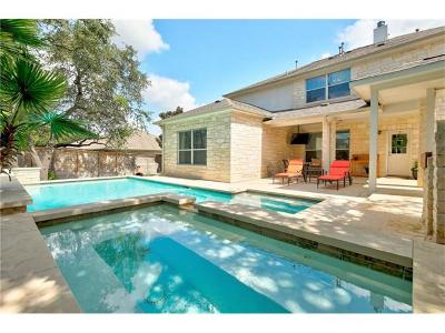 Round Rock Single Family Home For Sale: 1118 Pine Forest Cv