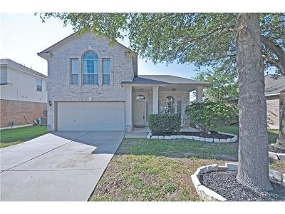 Round Rock Single Family Home For Sale: 17314 Zola Ln